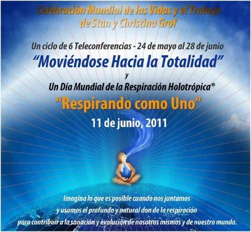 respirando como uno - RESPIRANDO COMO UNO: Día Mundial de la Respiración Holotrópica