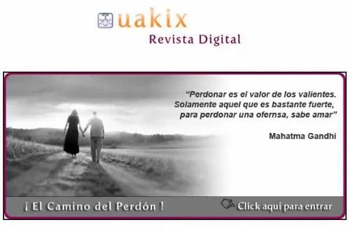 uakix - EL CAMINO DEL PERDÓN: revista online Uakix junio 2011 con entrevista en vídeo a Jorge Lomar