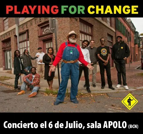 PlayingForChangeFB1 - Paz a través de la música: Playing for change en Barcelona