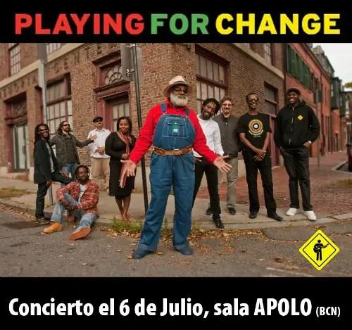 PlayingForChangeFB1 - Paz a través de la música: Playing for change en Barcelona