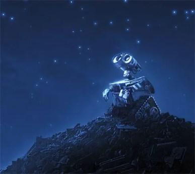 Wall E teaser 01 preview - Ternura, mensaje, diversión y entretenimiento en WALL-E