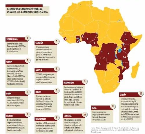 """africa tierras1 - """"PAREN, aquí vive gente"""" o cómo acabar con la soberanía alimentaria en África"""