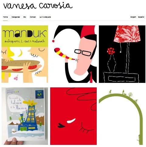 """vanesa - Entrevista a la ilustradora Vanesa Carosia: """"Mi vida entera se trata de buscar el equilibrio e ir compensado situaciones, como el Tetris"""""""