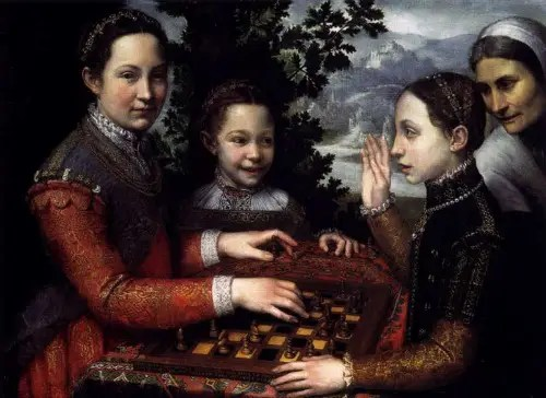 Anguissola Sofonisba 1531 4626 - AJEDREZ, algo más que un juego
