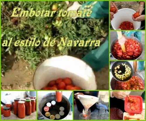 conserva de tomate en gran cantidad