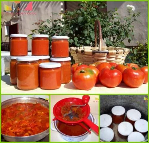 Collage de Picnik2 - Cómo hacer conserva de tomate frito en gran cantidad: vídeo