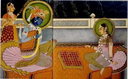 Radha Krishna chess - Radha-Krishna_chess
