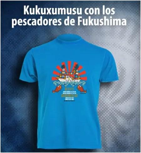 kukuxumusu1 - Camiseta solidaria de Kukuxumusu con los pescadores de Fukushima y los animales japoneses