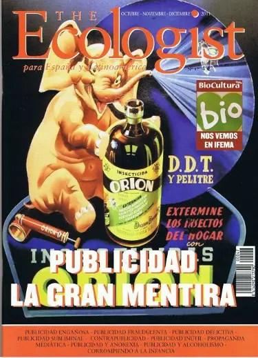 Ecologist publicidad portada - La gran mentira de la publicidad: revista The Ecologist nº 47