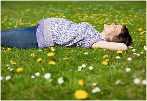 embarazo flores - embarazo flores