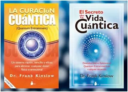 kinslow libros - Frank Kinslow y su curación cuántica en Barcelona