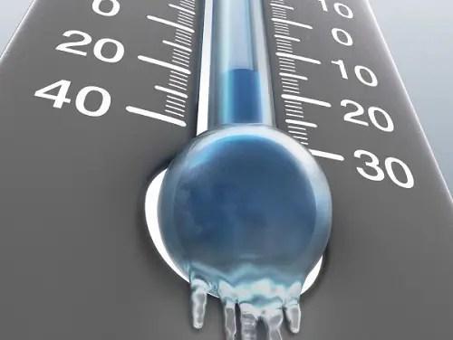 termometro helado - Prepárate para el frío. Los viernes de Ecología Cotidiana