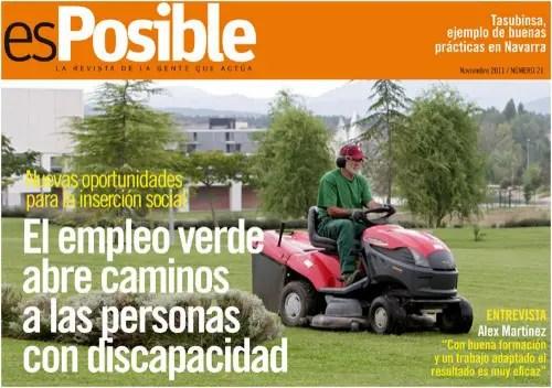esposible - El empleo verde abre caminos a las personas con discapacidad: revista online esPosible nº 21