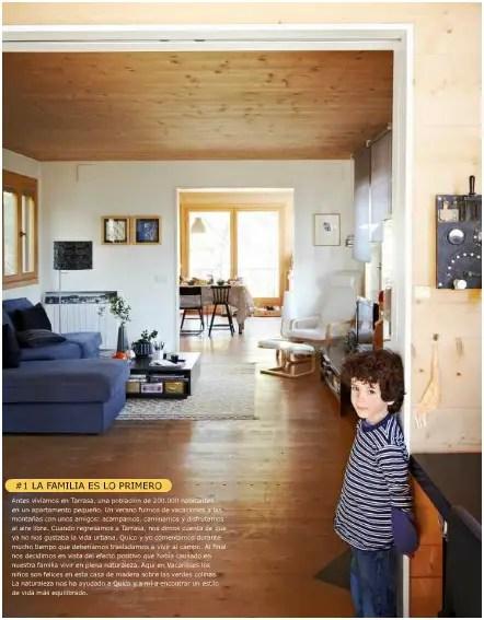 ikea - Una casa sostenible de madera en la revista de Ikea Family: otra familia neorural