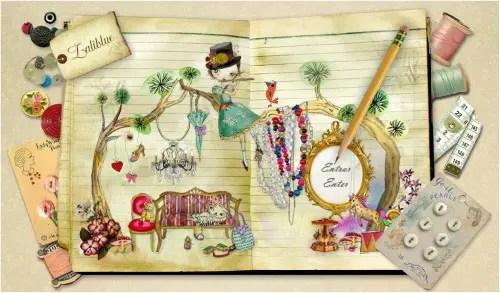 """laiblue2 - """"Mi ambición es simplemente ser feliz y hacer del 'handmade' mi profesión"""". Entrevista a Laliblue"""