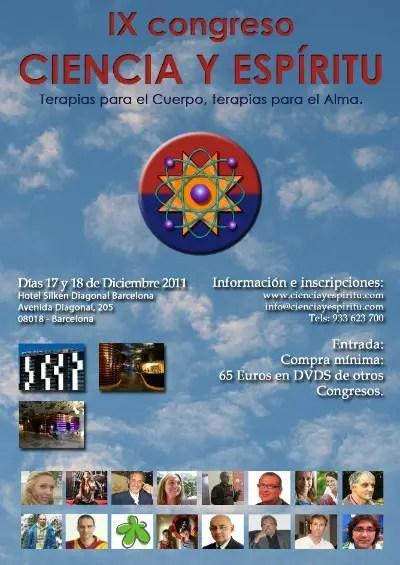 9congresobarcelona grandeb - Terapias para el Cuerpo, Terapias para el Alma: IX Congreso Ciencia y Espíritu en Barcelona (y vídeos)