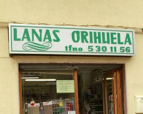 LANAS ORIHUELA