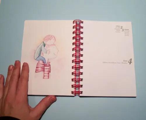 ilustracion - Agenda de la maternidad y crianza con apego 2012