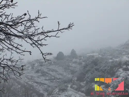 nieve - Vuelve la nieve a nuestro pueblo
