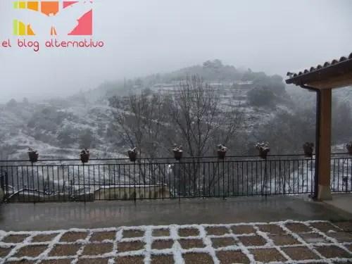 nieve en Préjano