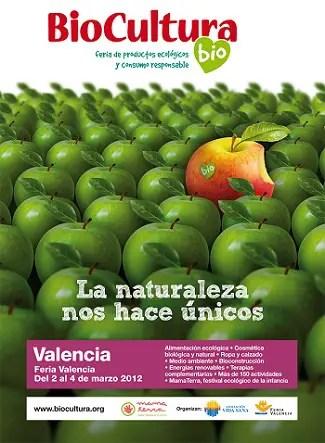 Biocultura Valencia 2012 Cartel - SORTEO de 50 entradas dobles para BioCultura Valencia 2012