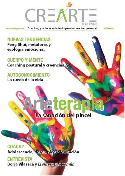 CrearteMagazine Num2 - Crearte magazine nº 2: revista online de coaching y autoconocimiento
