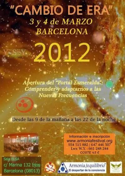 congreso cambio de era - Congreso Cambio de Era en Barcelona