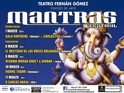 mantras - IV Mantras Festival en Madrid