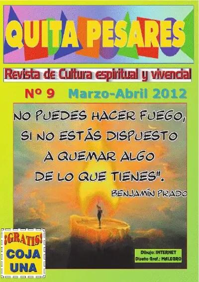 quitapesares 9 - Quitapesares nº 9: revista online de cultura espiritual y vivencial