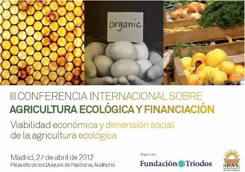 congreso agricultura ecológica y financiacion