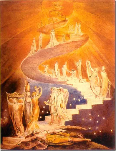image thumb1 - escalera al cielo de William Blake