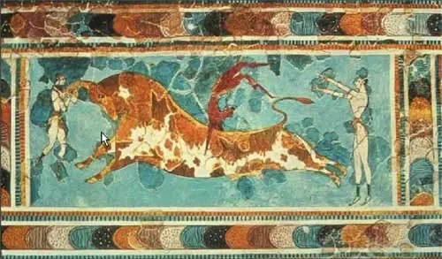 MINOTAURO - EL MINOTAURO. La captura del toro de Creta: 2º trabajo de Hércules