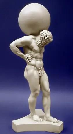 atlas2 - Las manzanas de oro del jardín de las Hespérides: 3er trabajo de Hércules