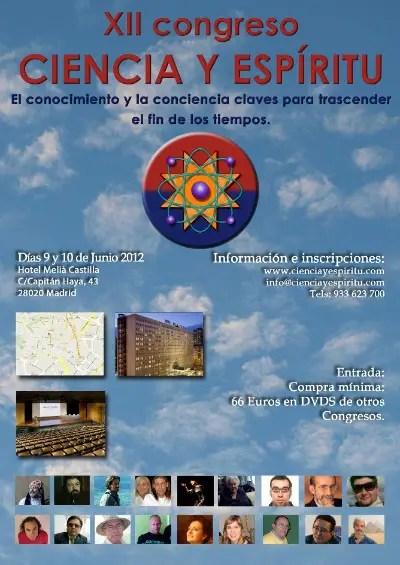 congresomadrid grande - XII Congreso Ciencia y Espíritu en Madrid
