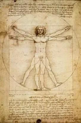 hombreleonardo1 -  EL PENTAGRAMA: El significado arcano de los símbolos: (5)