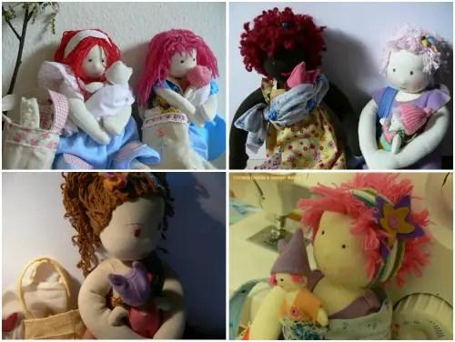 muñecas embarazo parto lactancia marias