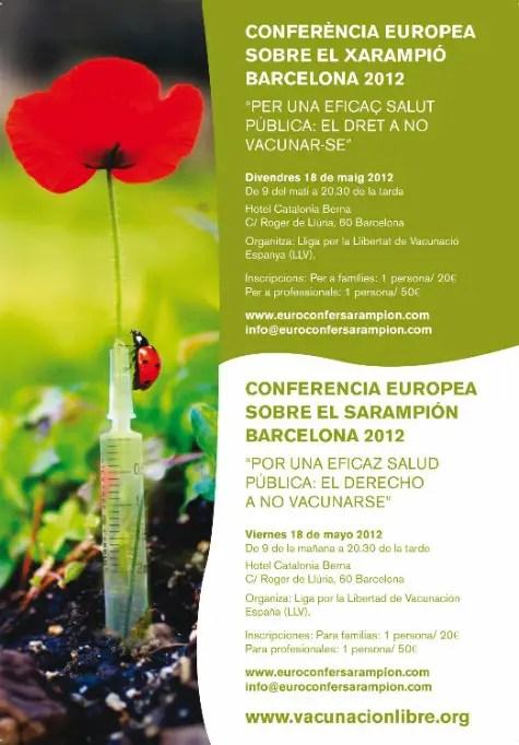 sarampion - Conferencia Europea sobre el Sarampión 2012 y el derecho a NO vacunarse