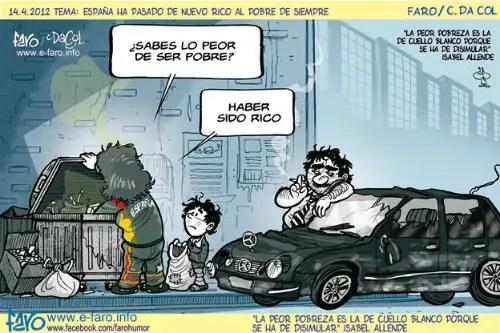 120414_pobres_familia_espana_contenedor_basura_mercedes_clase_E