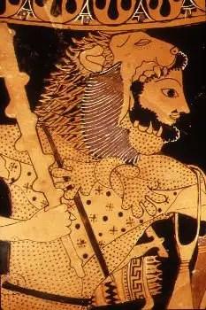 PIEL LEON - El león de Nemea: 5º trabajo de Hércules