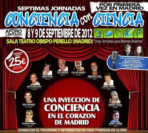 concienciaconciencia7 - Conciencia con ciencia: séptimas jornadas en Madrid, 8-9 de septiembre 2012 (con vídeos)