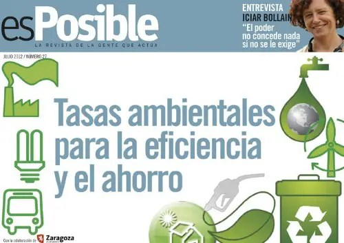 esposible27 - Tasas ambientales para la eficiencia y el ahorro. Revista online esPosible 27