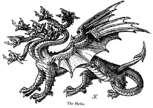 Hydra1 - LA HIDRA DE LERNA: 8º trabajo de Hércules