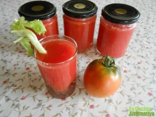 conserva zumo de tomate natural