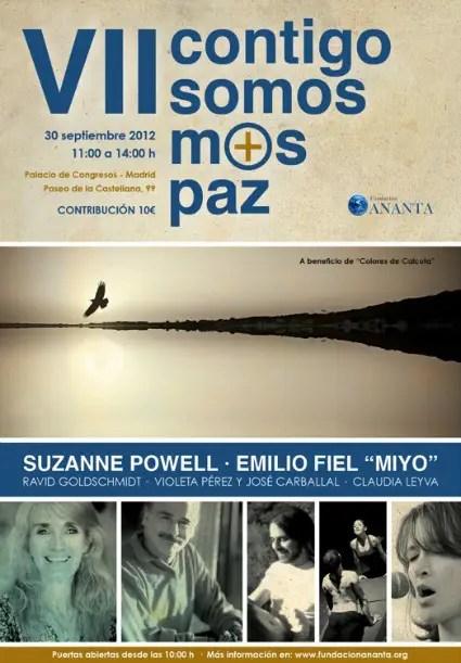 contigosomosmaspaz - Contigo somos más paz VII: Madrid 30 de septiembre 2012