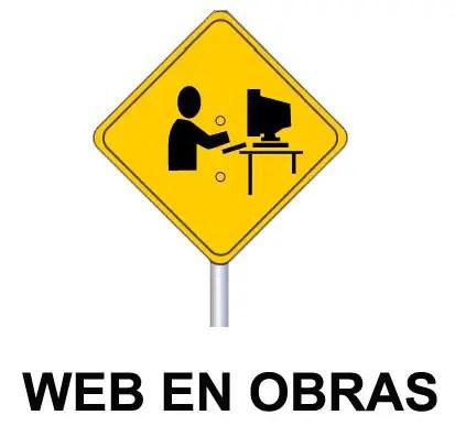 web en obras - Estamos de obras