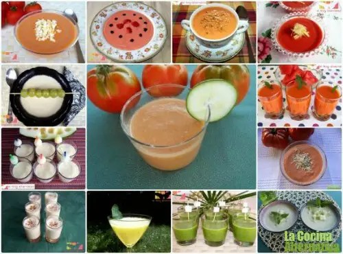 13 recetas gazpacho -