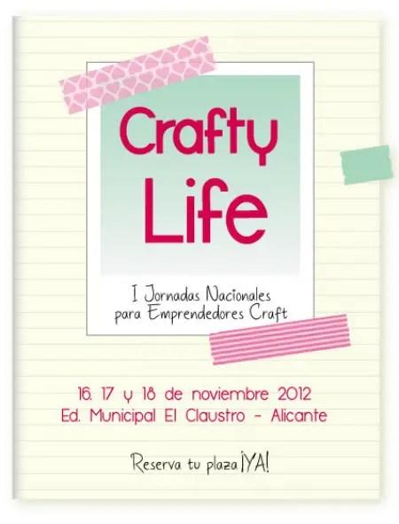 Anuncio CraftyLife WEB - Crafty Life: I Jornadas Nacionales para Emprendedores Craft
