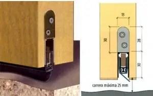 Burlete integrado1 - Para que no entre el frío por la puerta. Los viernes de Ecología Cotidiana