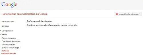 Captura Herramientas Webmaster Google - Captura Herramientas Webmaster Google