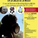 Cartel SEMSIBILIDAD QUIMICA2 - Los efectos de las exposiciones químicas y ambientales en la salud de la mujer: jornadas en la Universidad de Alicante